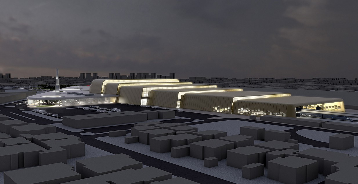 Riyadh Railway Station Renovation & Upgrading - Saudi Arabia