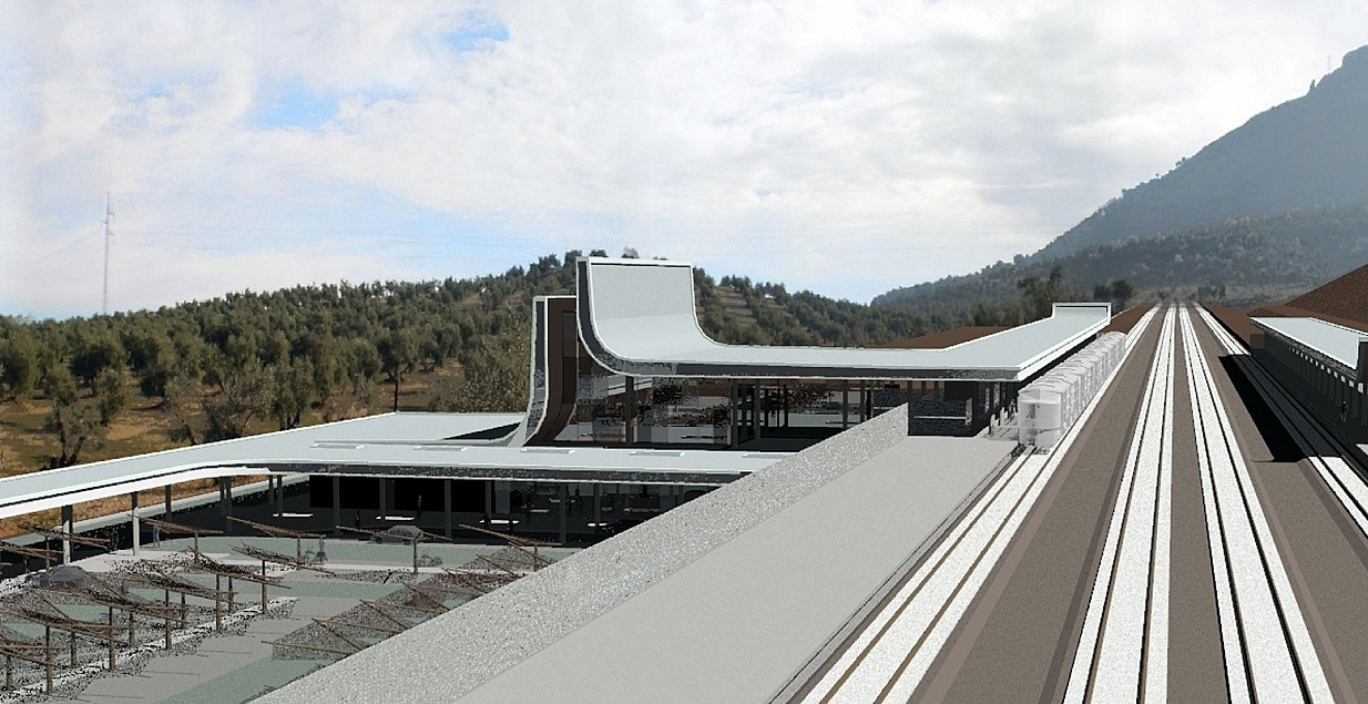 Loja High Speed Railway Station, Granada - Spain