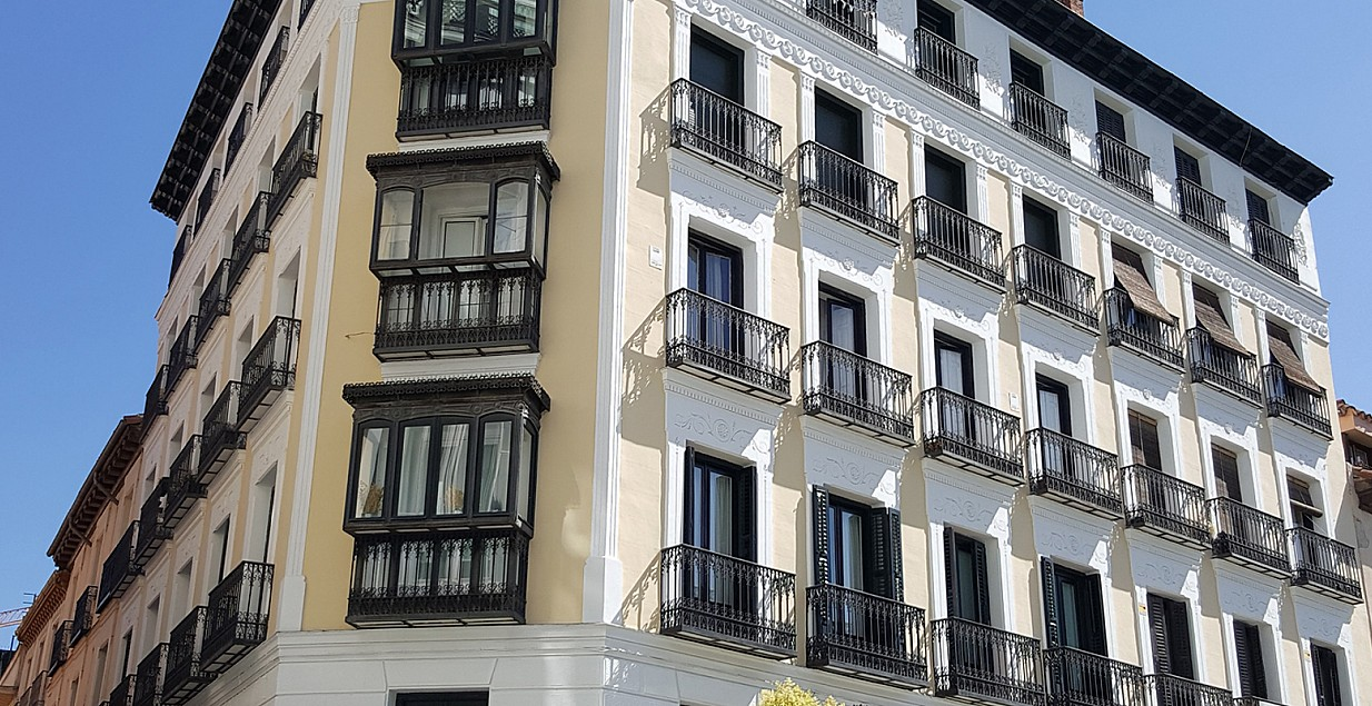 Listed Building Restoration in Madrid - Spain