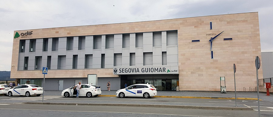 High Speed Railway Station in Segovia - Spain